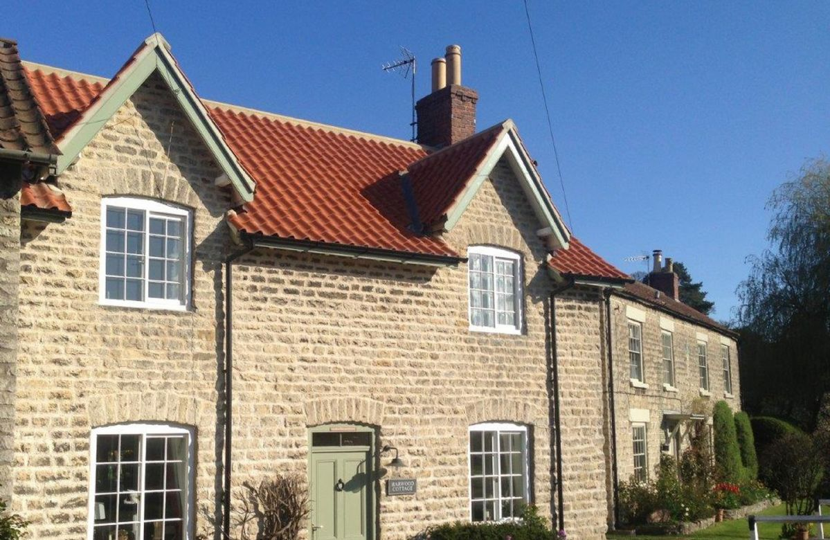 Harwood Cottage is located in Hovingham