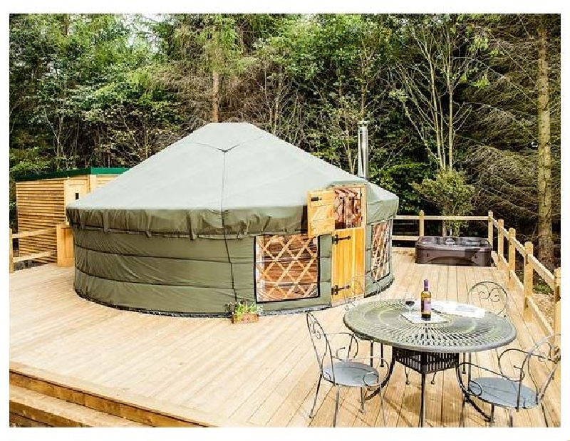 Click here for more about The Rowan Yurt